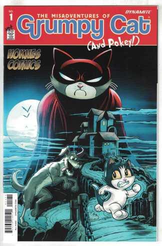 Grumpy Cat #1 Hoknes Variant Batman 227 Homage 2015 Dynamite VF/NM