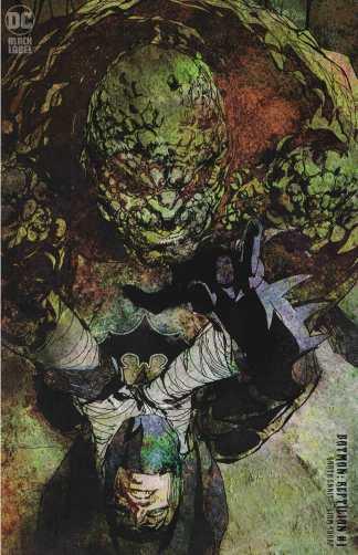 Batman Reptilian #1 1:25 Bill Sienkiewicz Variant DC 2021 Garth Ennis