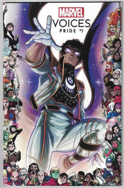 Marvels Voices Pride #1 1:25 Vecchio LGBTQIA+ Frame Variant 2021 Somnus VF/NM