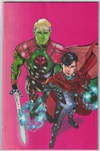 Marvels Voices Pride #1 1:50 Jimenez Hulking and Wiccan Virgin Variant 2021 NM