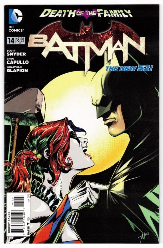 Batman #14 Trevor McCarthy Variant Death of the Family DC 2011 New 52 VF/NM