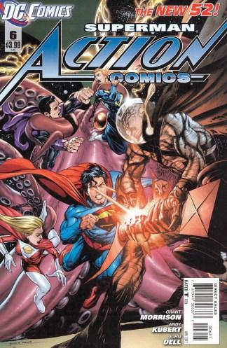 Action Comics #6 Rags Morales Variant DC 2011 New 52 Morrison