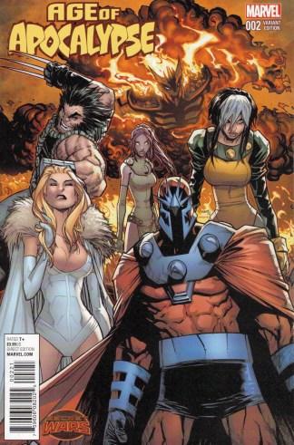 Age of Apocalypse #2 1:25 Humberto Ramos Variant Secret Wars SWA 2015