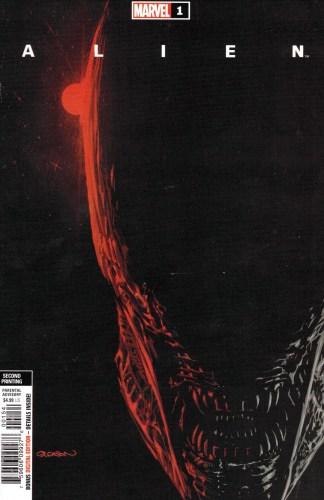 Alien #1 2nd Print 1:25 Patrick Gleason Variant Marvel 2021
