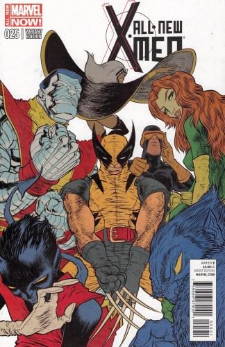 All-New X-Men #25 1:25 Rafael Grampa Variant Marvel 2012