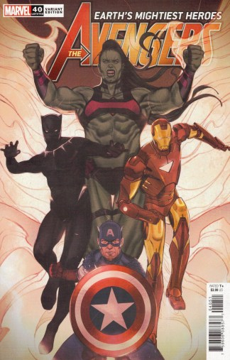 Avengers #40 Joshua Swaby Variant Marvel 2018 Enter the Phoenix