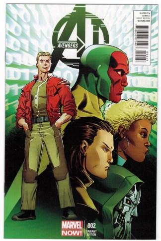 Avengers A.I. #2 1:50 Andre Araujo Variant AI Marvel 2013 VF/NM