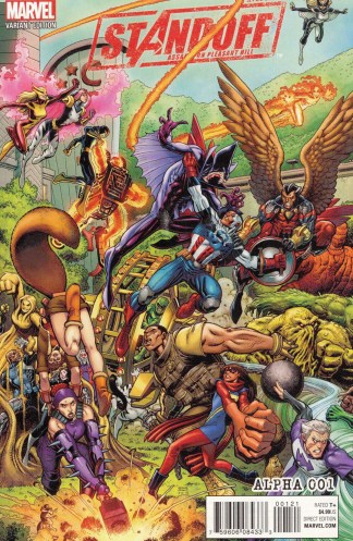 Avengers Standoff Assault Pleasant Hill Alpha #1 Adams Variant Marvel 2016