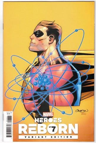 Heroes Reborn #7 1:25 Patrick Gleason Variant Hyperion Marvel 2021 Aaron VF/NM