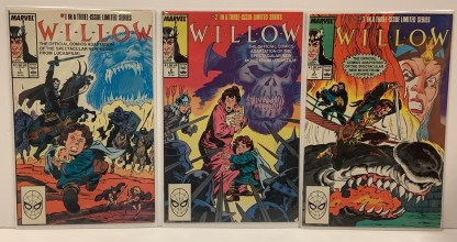 Willow #1-3 Complete Series Movie Adaptation Marvel 1988 VF/NM