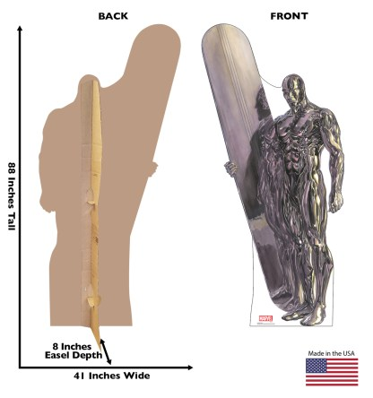 Alex Ross Marvel Timeless Collection Cardboard Standups -- Silver Surfer