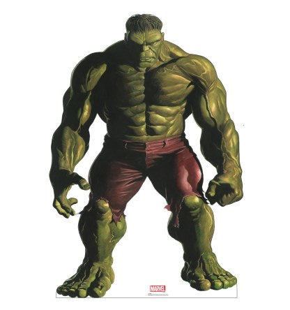Alex Ross Marvel Timeless Collection Cardboard Standups -- Hulk