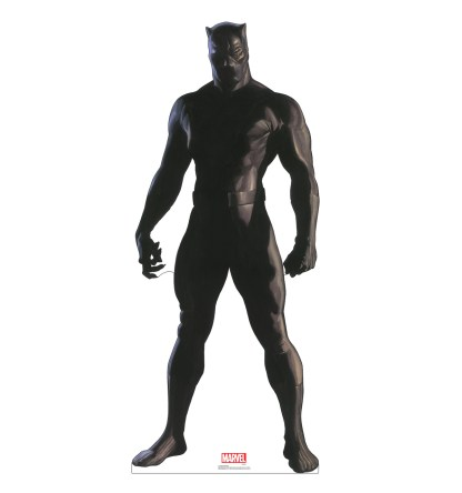 Alex Ross Marvel Timeless Collection Cardboard Standups -- Black Panther
