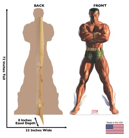 Alex Ross Marvel Timeless Collection Cardboard Standups -- Sub-Mariner