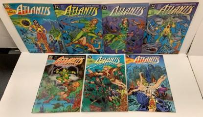 Atlantis Chronicles #1-7 Complete Set DC 1990 Peter David VF/NM