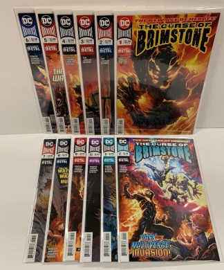 Curse of Brimstone #1-12 Complete Set Dark Nights Metal DC 2018 VF/NM