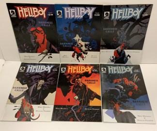 Hellboy Darkness Calls #1-6 Complete Set Dark Horse 2007 VF-