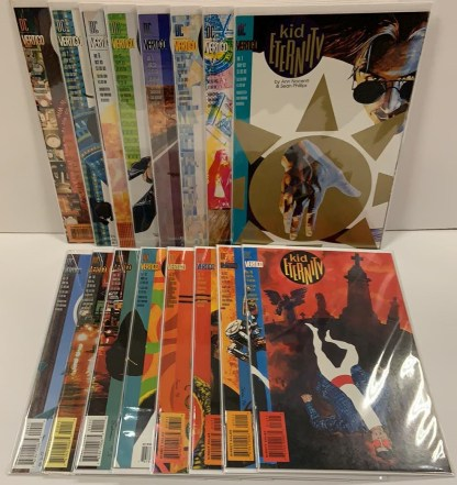 Kid Eternity #1-16 Complete Set DC Vertigo 1993 Nocenti Phillips VF/NM