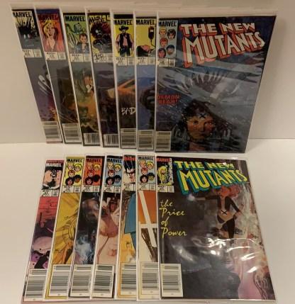 New Mutants #18-31 Complete Run Demon Bear Warlock Legion Marvel 1983 VF/NM