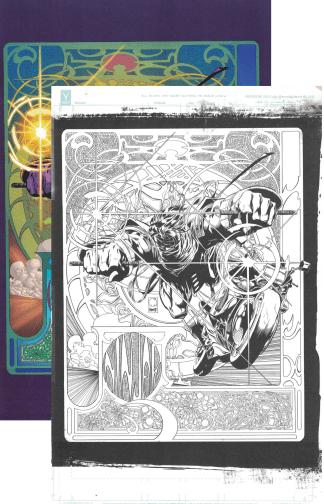 Ninjak #1 Ultimate Exclusive Joe Quesada Color/B&W Variant Set B Valiant 2021