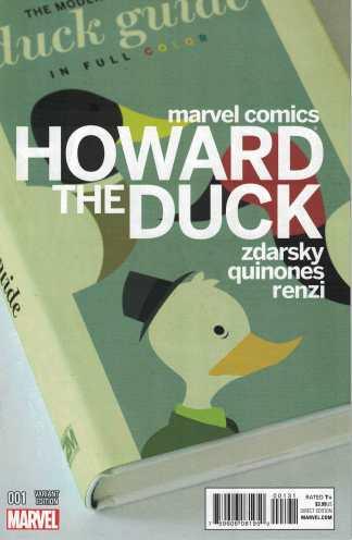 Howard the Duck #1 1:25 Zdarsky Variant Marvel 2015