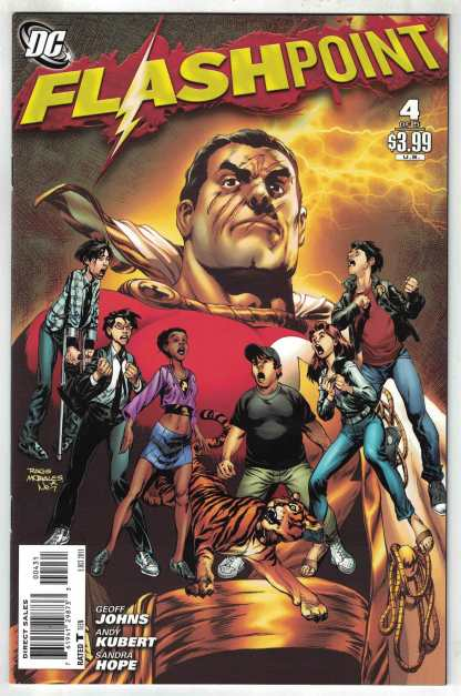 Flashpoint #4 Morales Variant DC 2011 Geoff Johns VF/NM