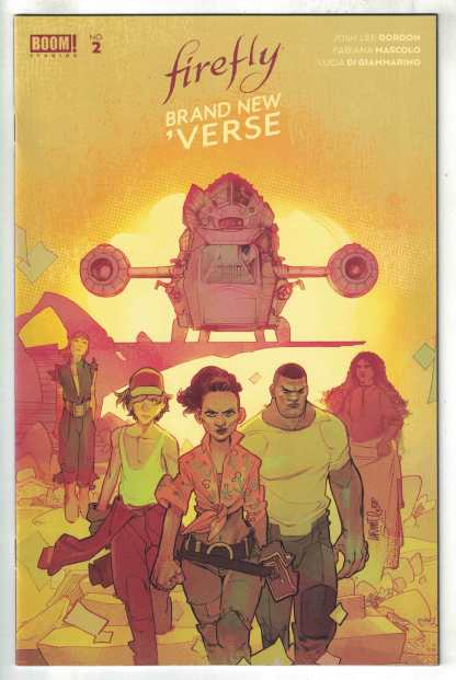 Firefly Brand New Verse #2 1:25 Lafuente Variant Boom! 2021 VF/NM