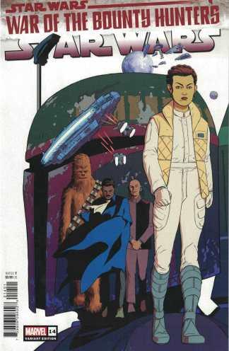 Star Wars #14 1:25 Rodriguez Variant Marvel 2020 Soule