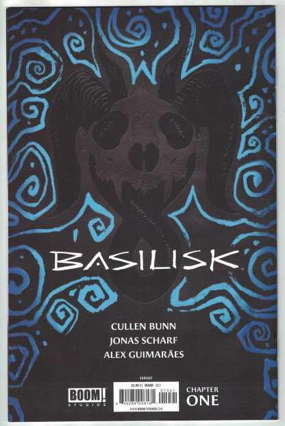 Basalisk #1 1:50 Christian Ward Virgin Variant Boom 2021 Cullen Bunn VF/NM