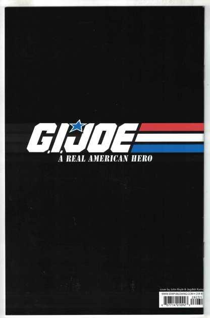 GI Joe #282 1:10 John Royle Variant IDW 2010 Larry Hama VF