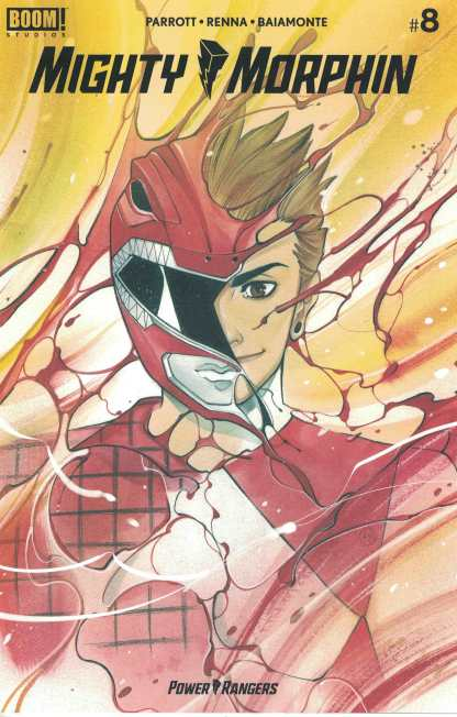 Mighty Morphin #8 1:25 Momoko Variant Boom! 2020