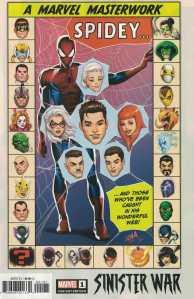Sinister War #1 1:25 Nakayama Variant Marvel 2021