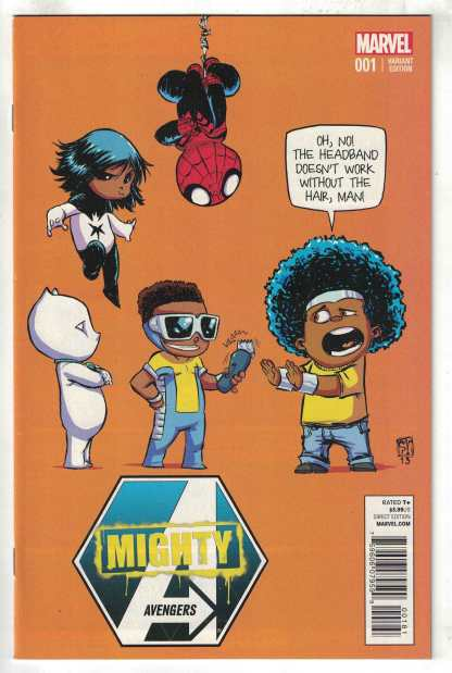 Mighty Avengers #1 Young Baby Variant Marvel 2013 Ewing VF/NM