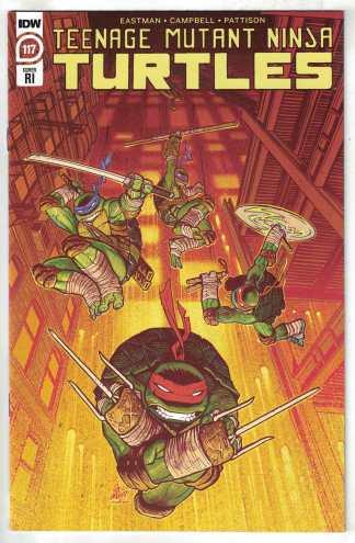 Teenage Mutant Ninja Turtles #117 1:10 Lofti Variant Eastman IDW 2011
