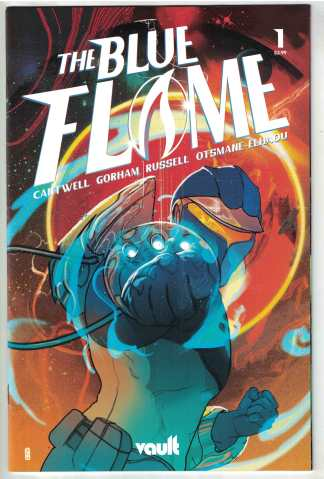 Blue Flame #1 1:30 Ward Variant Vault 2021 Cantwell VF/NM