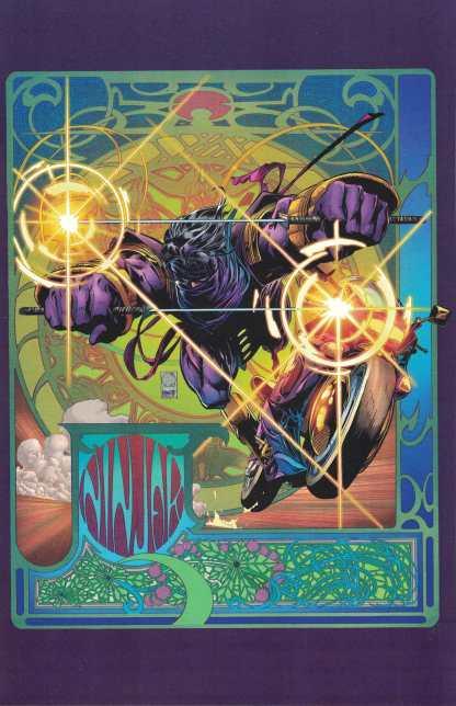 Ninjak #1 Ultimate Comics Exclusive Joe Quesada Color Variant B Valiant 2021