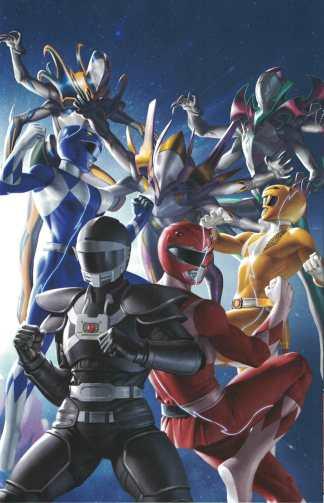 Power Rangers Unlimited Edge of Darkness #1 Yoon Virgin Variant Boom! 2021