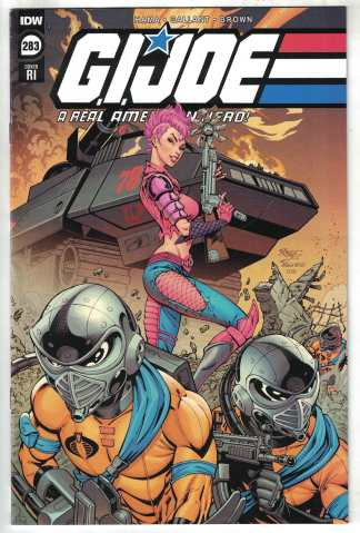 G.I. Joe A Real American Hero #283 1:10 Hollins Variant IDW 2010 VF