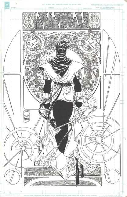 Ninjak #1 Ultimate Exclusive Joe Quesada Color/B&W Variant Set A Valiant 2021
