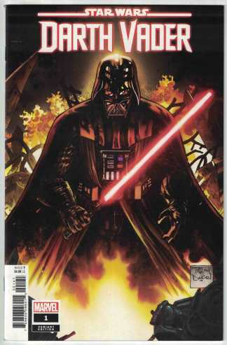 Star Wars Darth Vader #1 1:50 Tony Daniel Variant Marvel 2020 Greg Pak VF/NM