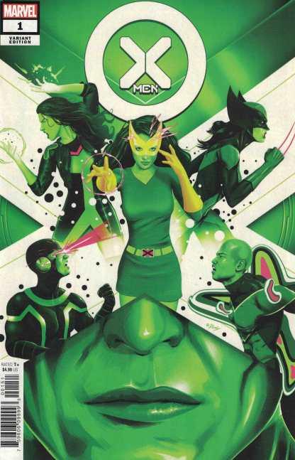 X-Men #1 1:25 Doaly Variant Marvel Girl Cyclops Marvel 2021 Gerry Duggan