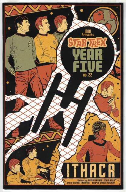 Star Trek Year Five #22 1:10 Lendl Variant Spock Captain Kirk IDW 2019 VF/NM