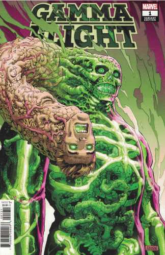 Gamma Flight #1 1:50 Weaver Variant Marvel 2021 Ewing