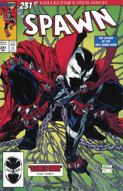Spawn #231 Cover A McFarlane Spider-Man Homage Image 1992