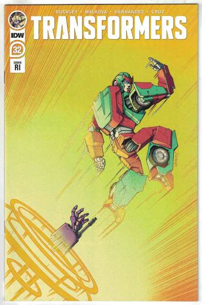 Transformers #32 1:10 Winston Chan Variant IDW 2019 Brian Ruckley VF/NM