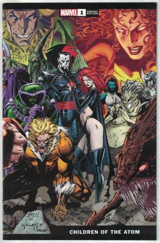 Children of the Atom #1 1:100 Jim Lee Wraparound Variant Marvel 2021 VF/NM
