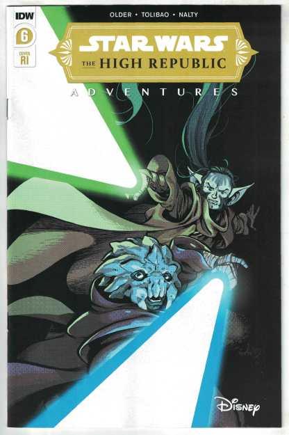 Star Wars High Republic Adventures #6 1:10 Kyriazis Variant Marvel 2021 VF/NM