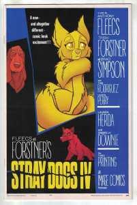 Stray Dogs #4 3rd Print Forstner & Fleecs Psycho Homage Variant Image 2021 NM-
