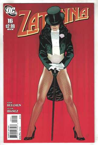 Zatanna #16 Hughes Cover A DC 2010 VF/NM
