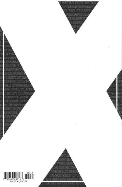 Skybound X #4 1:10 Pablo Tunica B&W Virgin Variant Image 2021 Kirkman